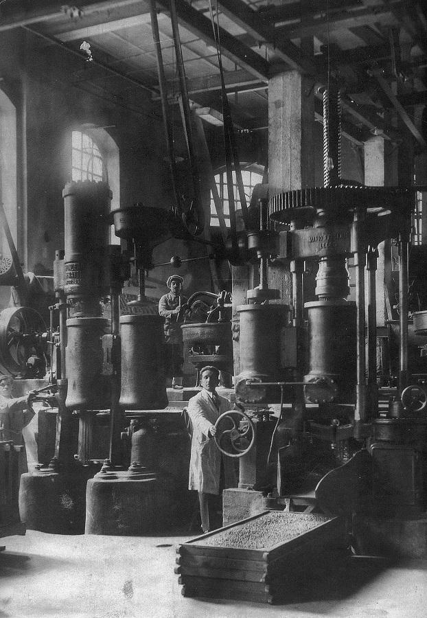 1926 Το πρώτο εργοστάσιο της ΑΒΕΖ στην Θεσσαλονίκη