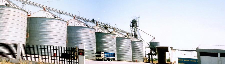 1987 P.Kadinopoulos silos at Sindos