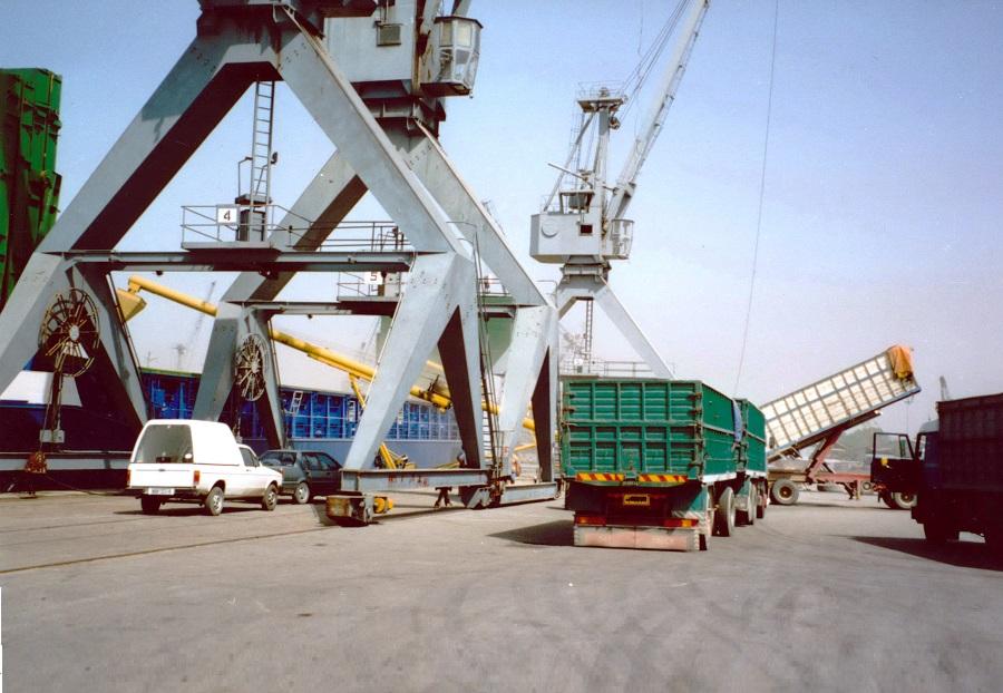 1990 Durum Wheat shipment Thessaloniki