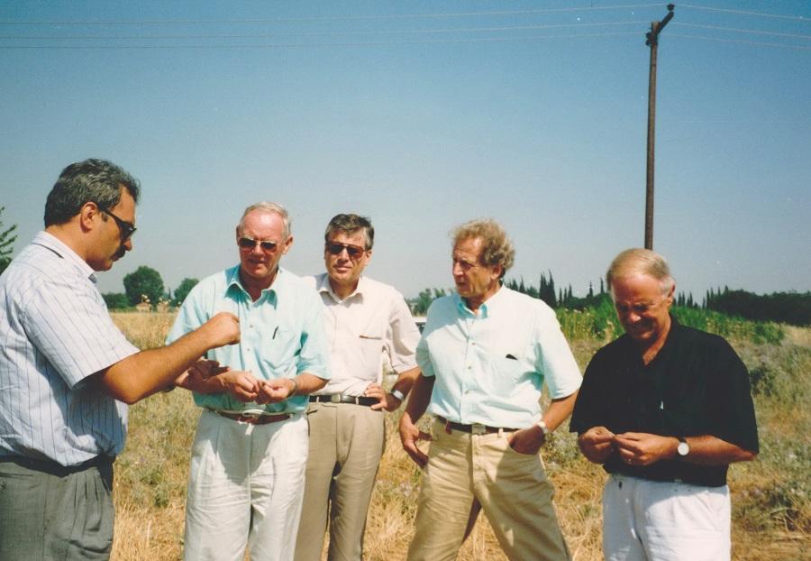 1992 Γερμανοί πελάτες σε επίσκεψη χωραφιών σκληρού