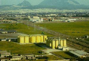 1999 Τα σιλό της Herba Hellas στον Άγ.Αθανάσιο