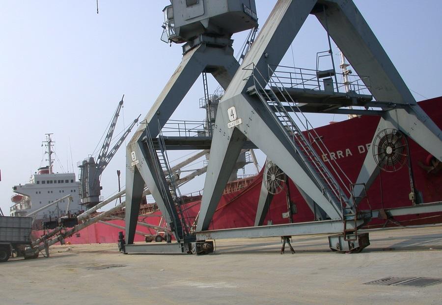 2006 Durum shipment in Thessaloniki