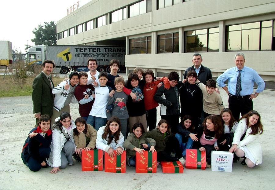 2006 School visit to Abez